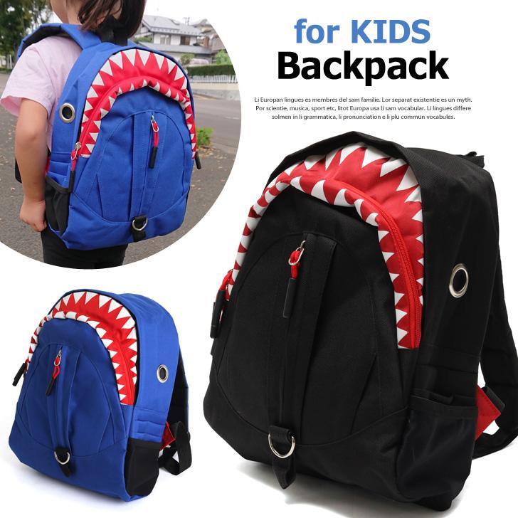 Smsta A Child Shark Shark Shark Rucksack Day Pack Backpack Kids Bag