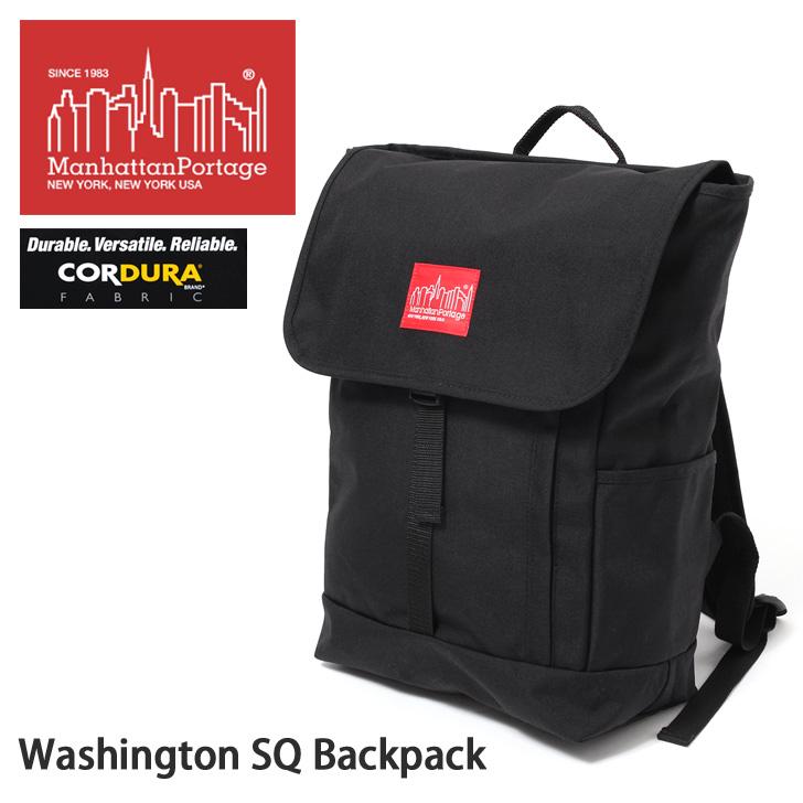 送料無料 Manhattan Portage マンハッタン ポーテージ Washington SQ Backpack メンズ レディース バッグ リュックサック リュック バックパックワシントンSQ MP1220 バレンタイン2020