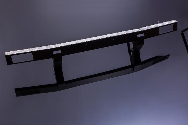 ジムニー Jimny ja11 パーツ バンパー JA11 [SJ]JA・SJ系 フロントバンパー Type4 ウインカー穴あり ジムニー用 スチール製[SMZ][シートメタルジップ]A1017
