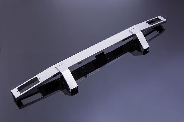 ジムニー Jimny ja11 パーツ バンパー JA11[SJ]JA・SJ系 ジムニー用 フロントバンパー Type4 ウインカー穴あり ステンレス製[SMZ][シートメタルジップ]A1019