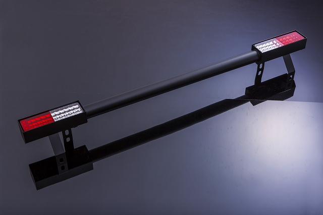 ジムニー Jimny ja11 バンパー パーツ JA11 [SJ]JA・SJ系 リアバンパー Type1 スチール製LED仕様 [SMZ][シートメタルジップ]A4011