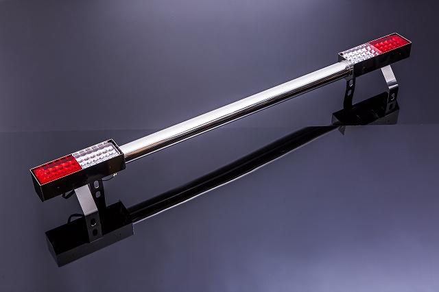 ジムニー JA11 バンパー パーツ  SJ JA・SJ系 リアバンパー Type2 ステンレス製 LED仕様 カスタム ドレスアップ アクセサリー オフロード SMZ シートメタルジップ  A4013