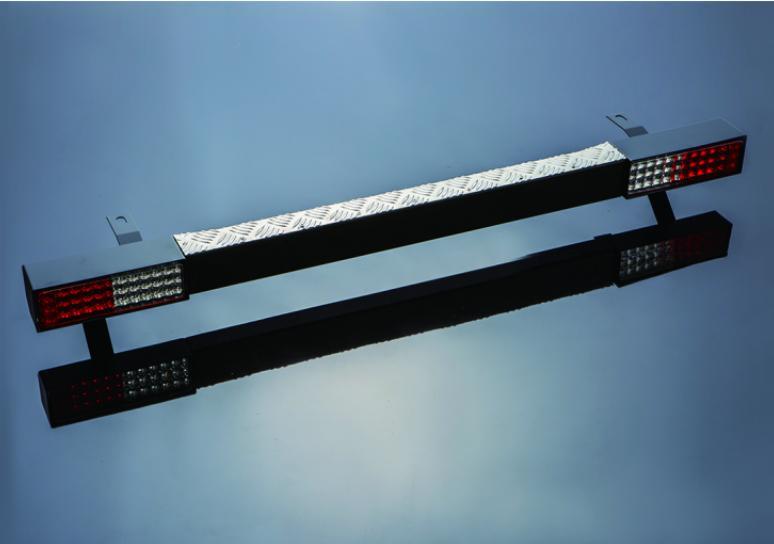 [ジムニー][Jimny]JA11 ja11 バンパー[SJ]JA・SJ系 リヤバンパー Type3 スチール製 LED仕様 ジムニー用 パーツ [SMZ][シートメタルジップ]A4015