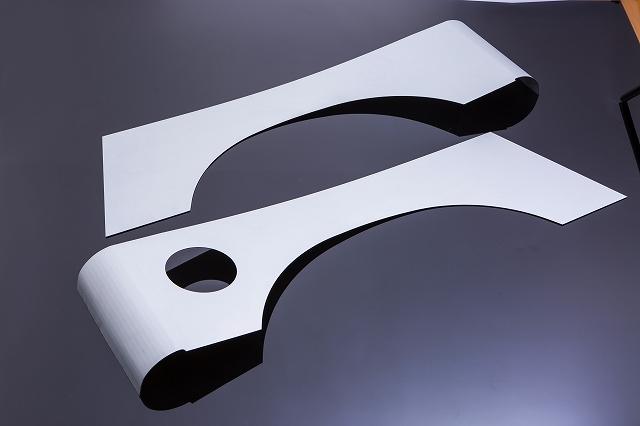 [ジムニー][JA11][SJ]JA・SJ系 リアフェンダーガード(フルガード) メッキ鋼鈑製 バン(ワゴン)用[SMZ][シートメタルジップ]A4033