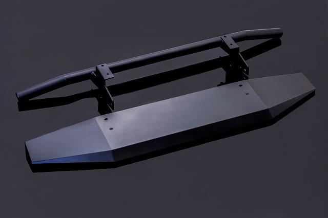 ジムニー 新型 ジムニーシエラ JB74 フロントバンパー&スキッドガード シートメタルジップ SMZ スズキ パーツ カスタム 改造