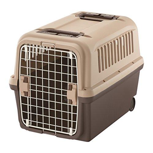 リッチェル キャンピングキャリー 中型犬用 卸直営 セール サイズ L ダークブラウン
