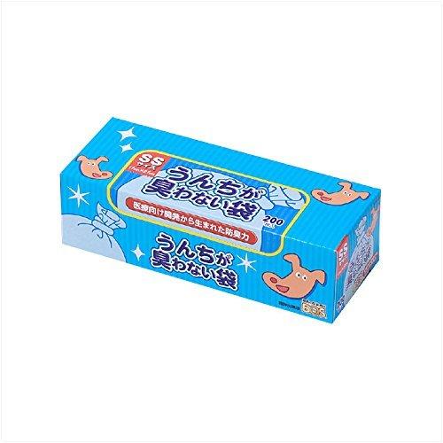 うんちが臭わない袋BOS ペット用箱型 SS 15個 5☆好評 ディスカウント × 200枚