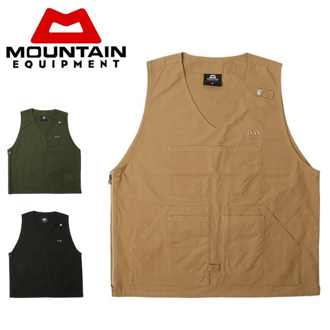 MOUNTAIN EQUIPMENT マウンテンイクイップメント Utility Vest 421368 【アウトドア/メンズ/ベスト】