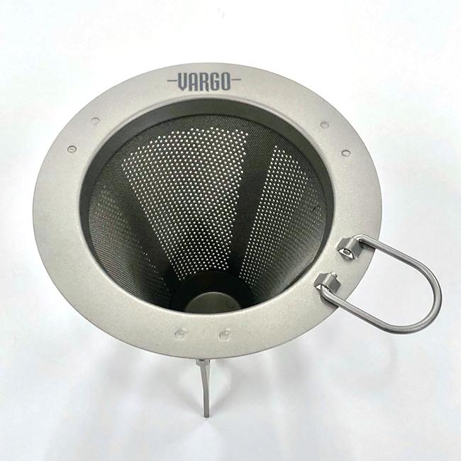 Vargo Titanium Travel filtre à café T-474