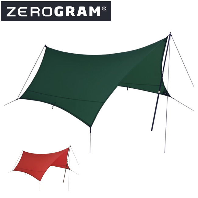ZEROGRAM ゼログラム Minimalist III Hexa Tarp 【タープ/日よけ/アウトドア/キャンプ】