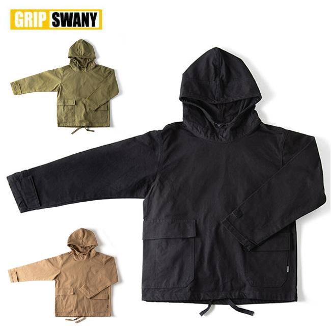 GRIP SWANY グリップスワニー CAMP SALVAGE PARKA GSJ-50 【パーカー/アウター/キャンプ/アウトドア】