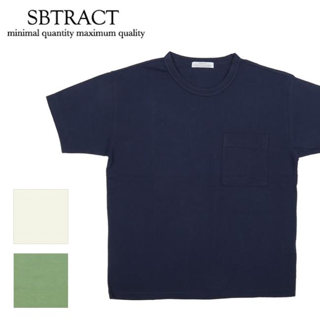 【エントリーで更にP10倍!2020年1月1日0時~】SBTRACT サブトラクト 21S/S two-binder PK TEE SBN19-061 【Tシャツ/トップス/アウトドア/半袖】