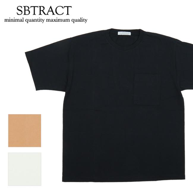 【エントリーで更にP10倍!2020年1月1日0時~】SBTRACT サブトラクト 14S/S TEE SBN19-058 【Tシャツ/トップス/アウトドア/半袖】