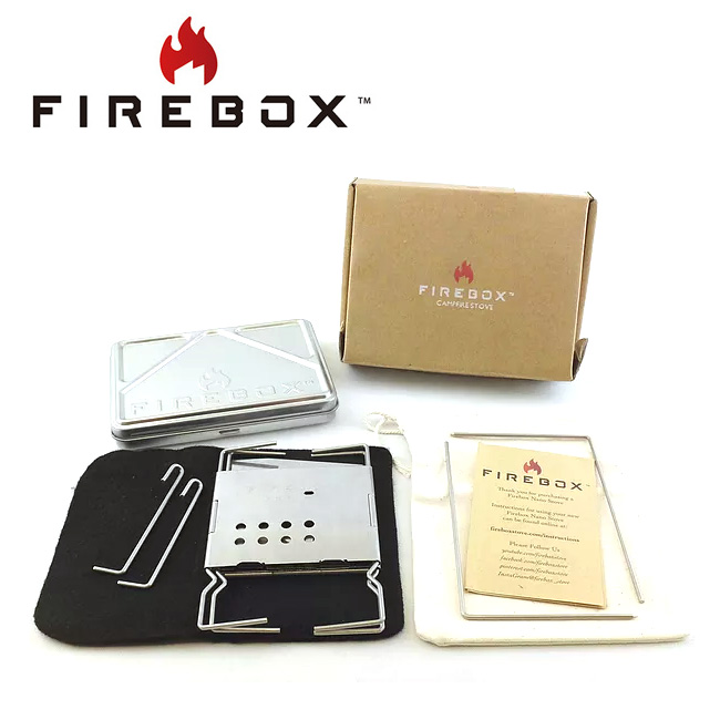 【スマホエントリでP10倍確定!12日 10時~】FIREBOX ファイヤーボックス Nano Stainless Steel Box Set ナノステンレス ボックスセット FB-NSSSS 【ストーブ/アウトドア/キャンプ/BBQ/クッキング】