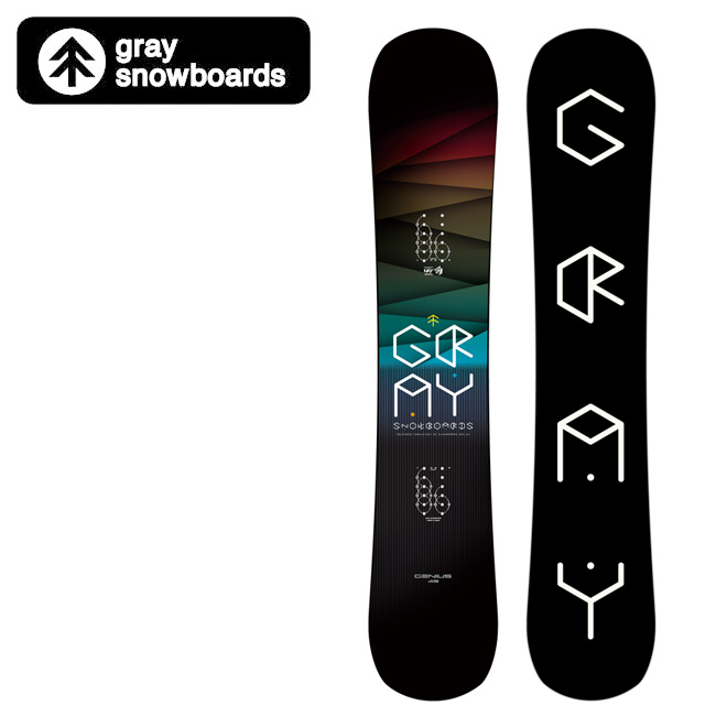 2020 GRAY SNOWBOARDS グレイ スノーボード GENIUS ジーニアス 【2020/日本正規品/スノー】