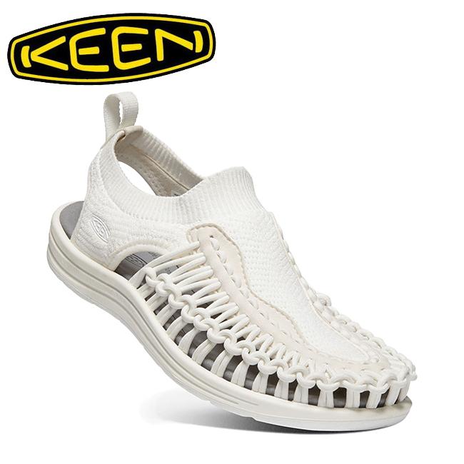 キーン KEEN UNEEK EVO ユニーク エヴォ WHITE 1021483 【アウトドア/メンズ/サンダル/軽量/カジュアル】
