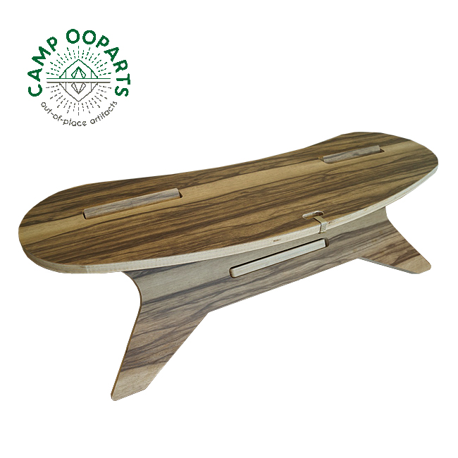 CAMP OOPARTS キャンプオーパーツ C TABLE Boomerang W800 C型テーブル ブーメラン 【テーブル/焚き火/アウトドア/キャンプ】
