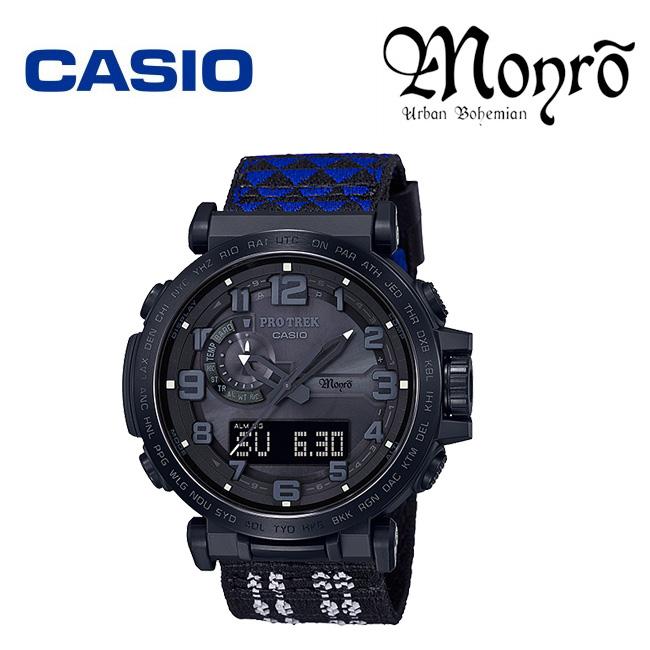 CASIO カシオ PRO TREK Monro Special edithion プロトレック モンロ コラボモデル PRW-6600MO-1JR 電波ソーラー【正規品】