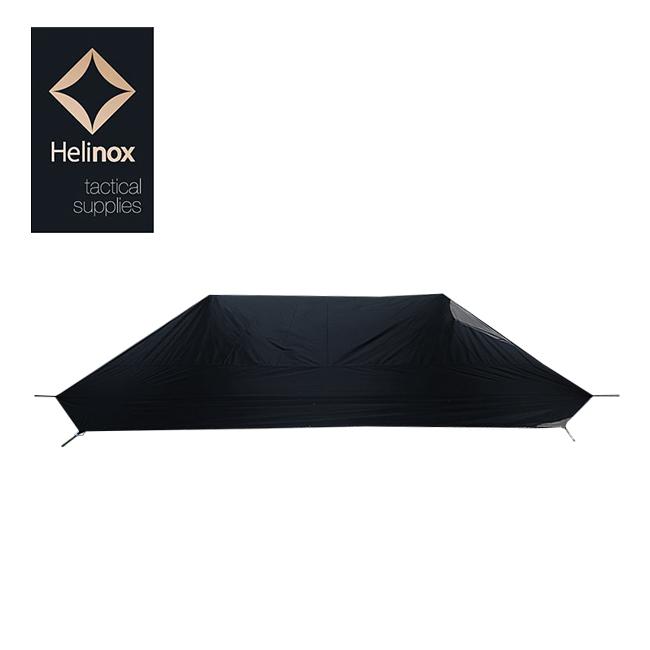 HELINOX ヘリノックス タクティカル Tac.Vタープ4.0 フットプリント ブラック 19756010 【日本正規品/タープ/アウトドア/キャンプ】