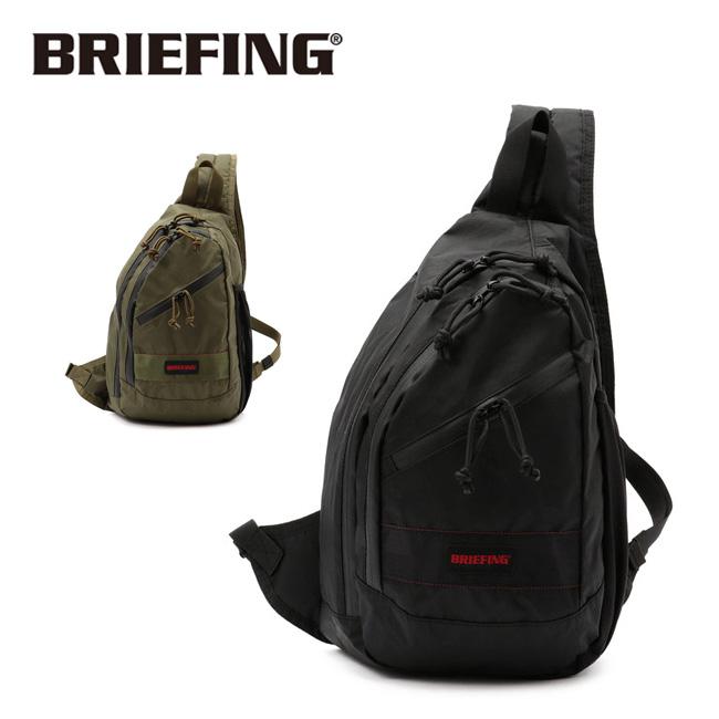 【スマホエントリでP10倍確定!12日 10時~】BRIEFING ブリーフィング VERTICAL SLING XP ヴァーサタイルシリング BRM191L44 【アウトドア/鞄/カジュアル/肩掛け】