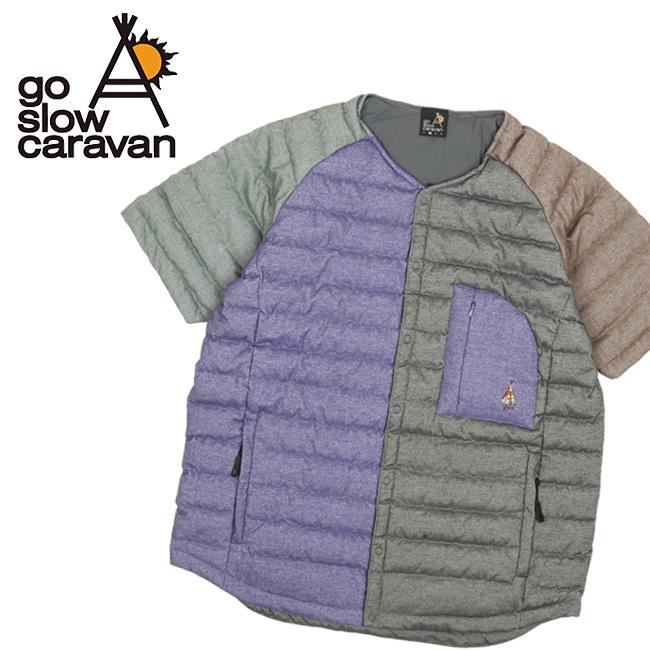 go slow caravan ゴースローキャラバン ショートスリーブインナーダウン 320211 【アウター/インナー/防寒/アウトドア】