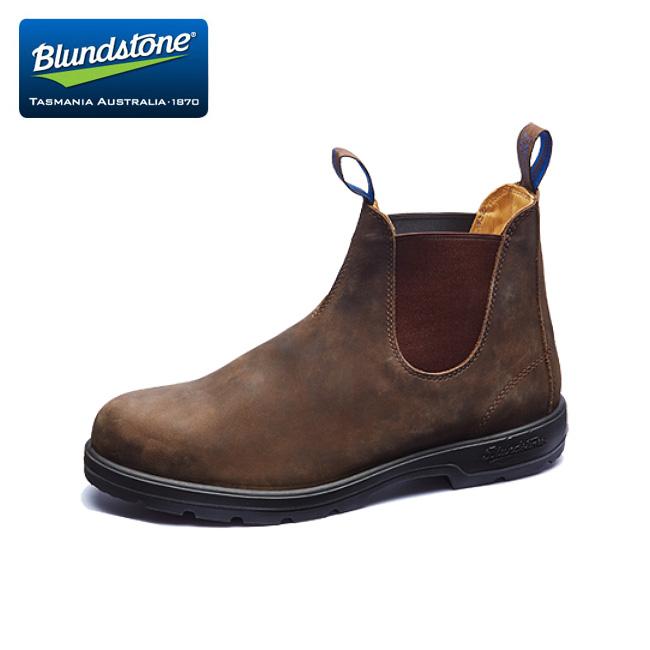 靴 1着でも送料無料 Blundstone ブランドストーン BS584 Rustic アウトドア ブーツ 年間定番 BS584267 Brown サイドゴア