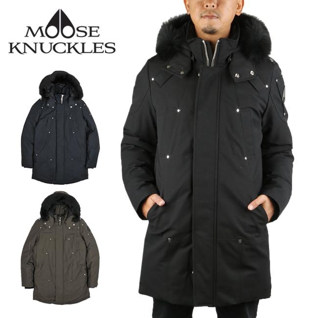 MOOSE KNUCKLES ムースナックルズ STIRLING PARKA スターリングパーカー 19AU-MK4661MP 【アウター/ジャケット/防寒/アウトドア/ダウンコート】