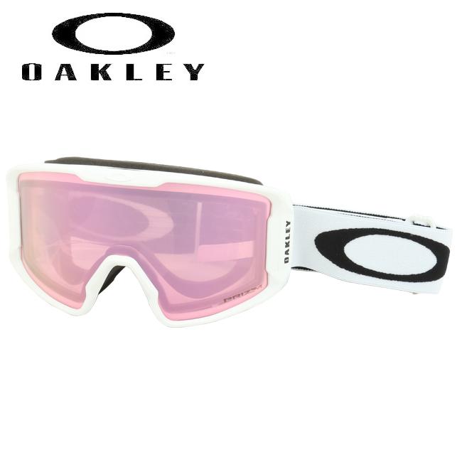 2020 OAKLEY オークリー Line Miner XM Matte White Prizm HI Pink Iridium oo7093-11 ゴーグル 【日本正規品/スノーボード/スキー】