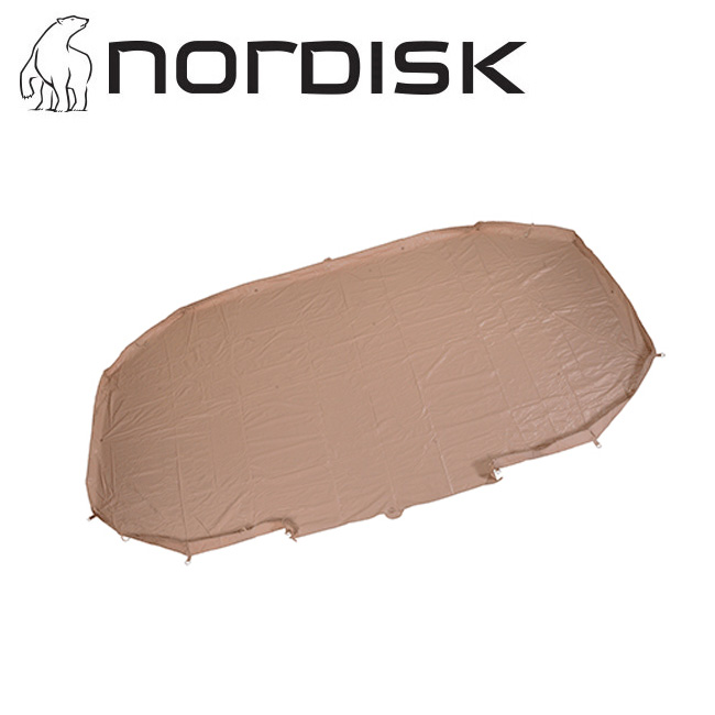 NORDISK ノルディスク Vanaheim 24 Zip In Floor ジップインフロア ヴァナヘイム 146014 【グランドシート/テントマット/キャンプ/アウトドア】