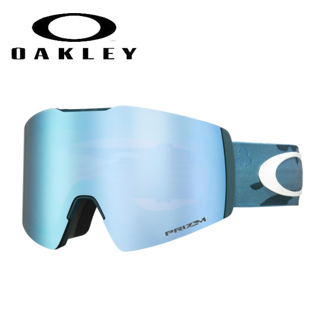 2020 OAKLEY オークリー Fall Line XL Mark McMorris Signature CLAS2 Camo Prizm Sapphire Iridium oo7099-17 ゴーグル 【日本正規品/スノーボード/スキー】
