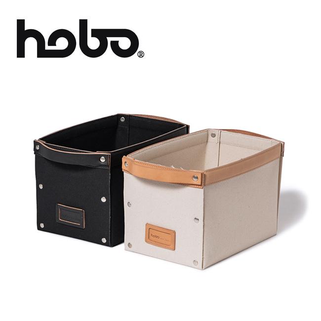 hobo ホーボー COTTON CANVAS STORAGE BOX M コットンキャンバスストレージボックス HB-O3103 【収納ケース/工具/ツール/アウトドア】