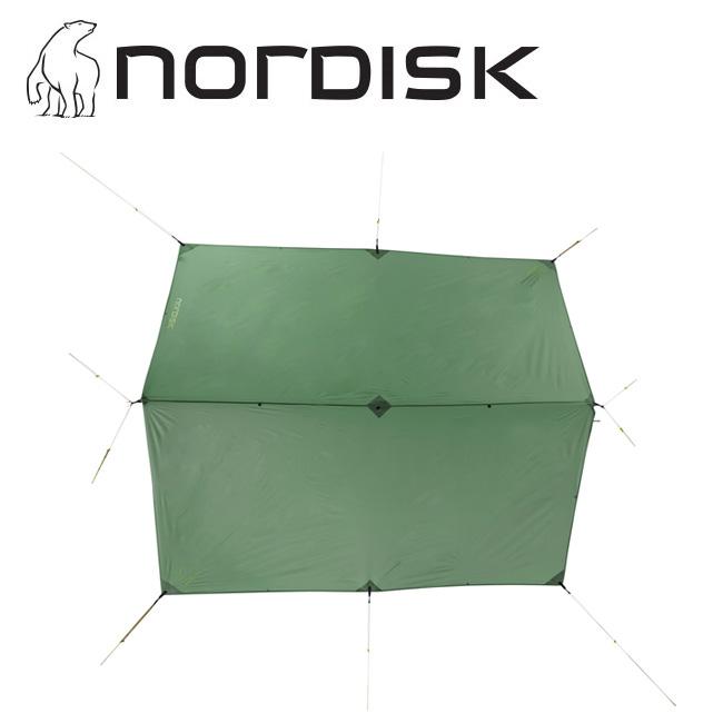 NORDISK ノルディスク Voss 9 m2 PU ヴォス Dusty Green 127015 【アウトドア/キャンプ/タープ/日よけ/防災】