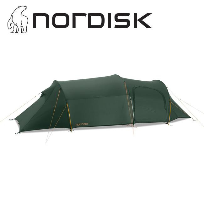 NORDISK ノルディスク Oppland 3 LW SI オップランド フォレストグリーン Alu 151013 【アウトドア/キャンプ/テント/日よけ/防災】