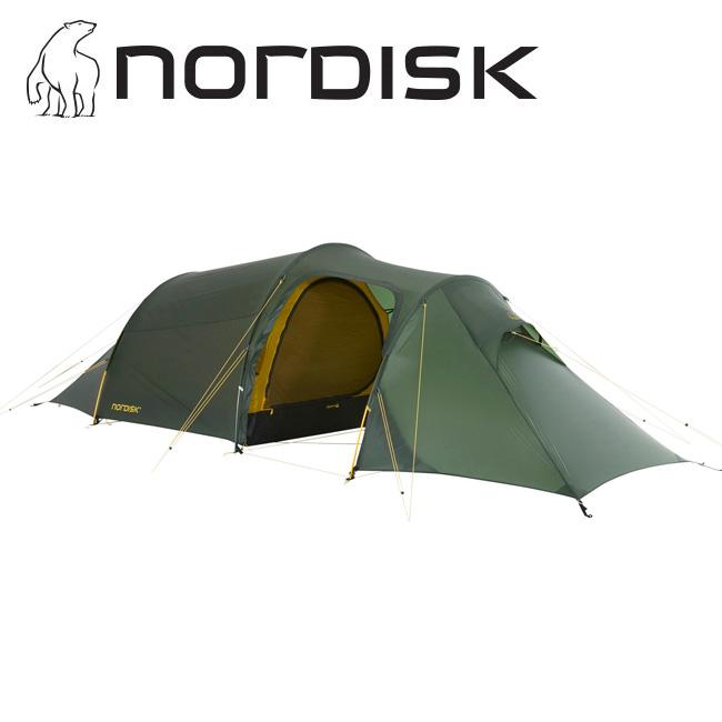 NORDISK ノルディスク Oppland 2 LW SI オップランド フォレストグリーン Alu 151022 【アウトドア/キャンプ/テント/日よけ/防災】