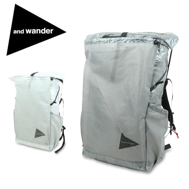 and wander アンドワンダー cuben fiber backpack キューベンファイバーバックパック 574-0975002 【リュック/防水/軽量/アウトドア】