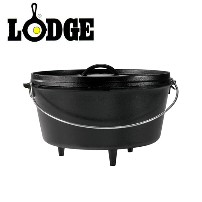 LODGE ロッジ キャンプオーヴン 12インチディープ L12DCO3 19240122 【アウトドア/キャンプ/ダッチオーブン/料理/BBQ】