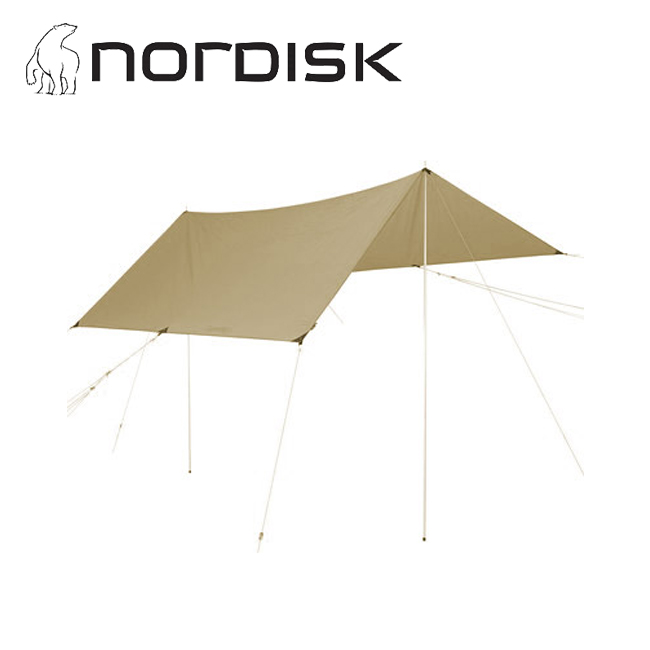 NORDISK ノルディスク VOSS 14 PU TARP BEIGE ヴォス 122046 【タープ/日よけ/アウトドア/キャンプ】