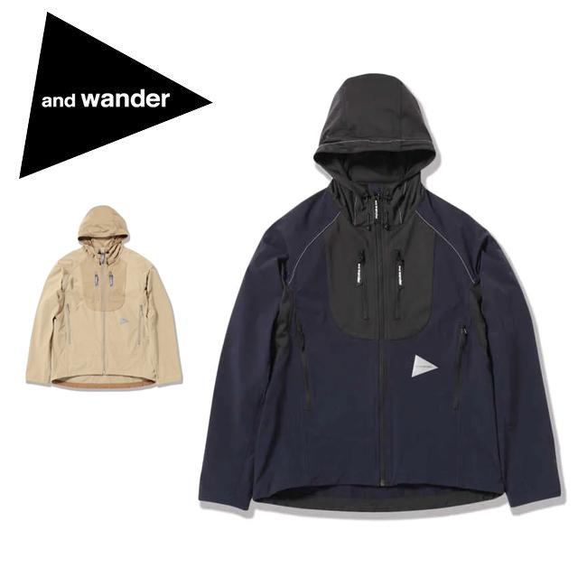 and wander アンドワンダー trek jacket 2 トレックジャケット 574-0121005 【アウトドア/フード/アウター】