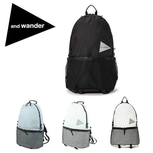 and wander アンドワンダー X-Pac backpack エックスパック バックパック 574-0975009 【アウトドア/リュック/登山】