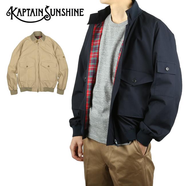KAPTAIN SUNSHINE キャプテンサンシャイン G-Wep KS20SBC01/BRCPS0734 【BARACUTA/バラクータ/アウター/ジャケット/ブルゾン/アウトドア】