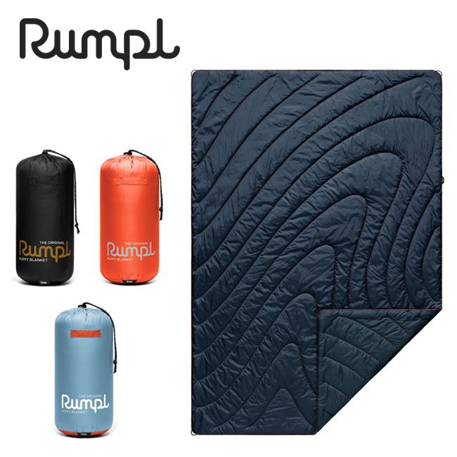 Rumpl ランプル ORIGINAL PUFFY BLANKET SOLID 1 オリジナルパフィーブランケットソリッド 3IP-RMP-201001 【アウトドア/キャンプ/掛け布団/車中泊/膝掛】