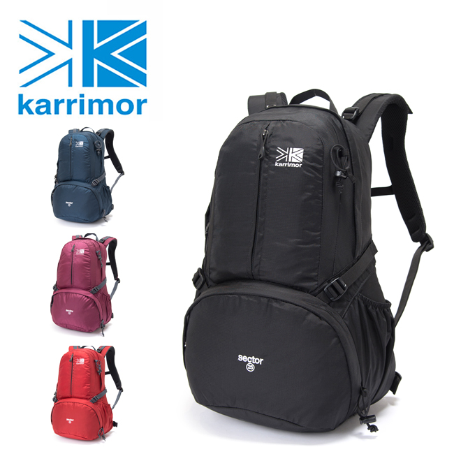 Karrimor カリマー sector 25 セクター 501008 【バックパック/リュック/アウトドア/タウンユース】