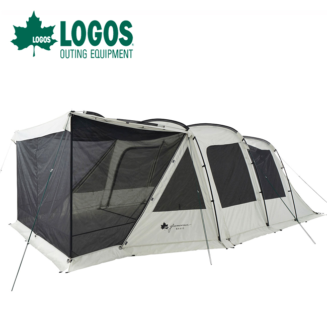 LOGOS ロゴス グランベーシック 3ルームトンネルドーム WXL-BJ 71805545 【テント/キャンプ/アウトドア】