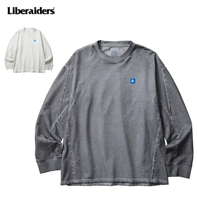 Liberaiders リべレイダース 3D SEAM CREWNECK シームクルーネック 753032001 【トップス/長袖/カジュアル/アウトドア】