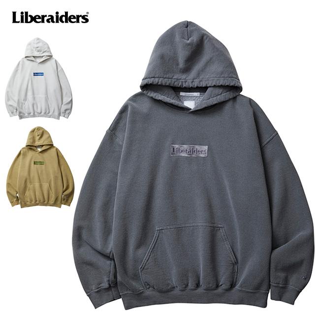 Liberaiders リべレイダース OG LOGO EMBROIDERY HOODIE ロゴエンブロイダリーフーディー 753072001 【トップス/パーカー/スウェット/フード/アウトドア】