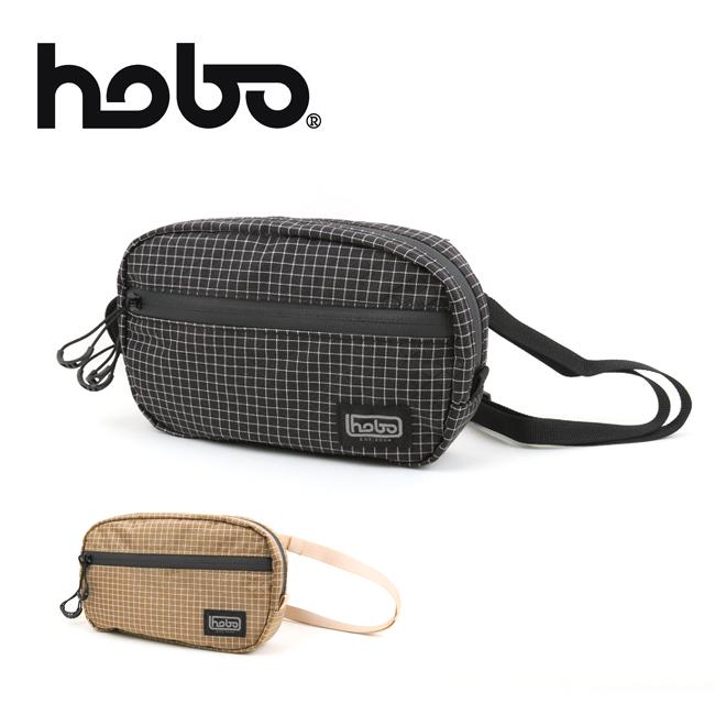 hobo ホーボー SPECTRA X-GRIDSTOP NYLON WAIST BAG スペクトラグリッドストップナイロンウエストバッグ HB-BG3120 【ショルダーバッグ/ボディバッグ/ヒップバッグ/アウトドア】