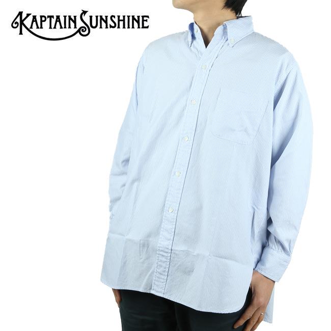 KAPTAIN SUNSHINE キャプテンサンシャイン PoloCollar Shirt ポロカラーシャツ KS20SSH09 【トップス/ゆったり/アウトドア】