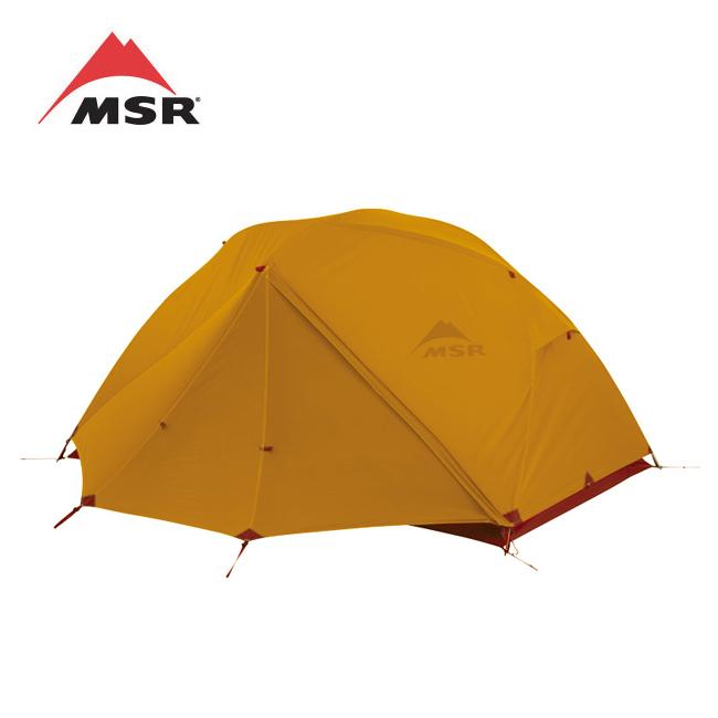MSR エムエスアール ELIXIR 2 エリクサー(フットプリント付)ゴールド 37045 【テント/アウトドア/キャンプ/防災】
