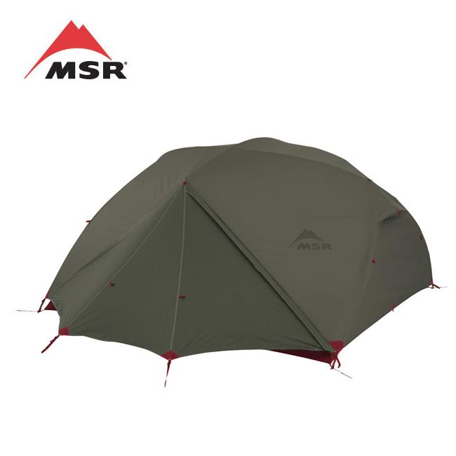 MSR エムエスアール ELIXIR 4 エリクサー(フットプリント付)グリーン 37034 【テント/アウトドア/キャンプ/防災】