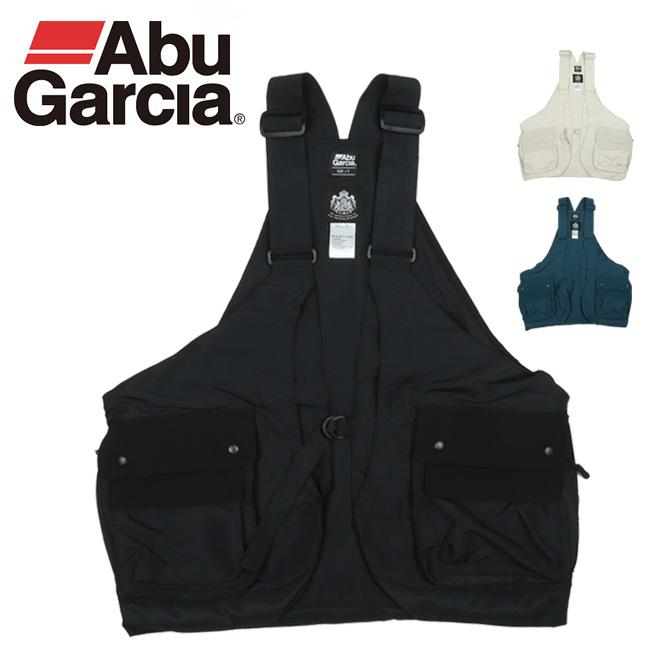AbuGarcia アブガルシア WATER REPELLENT FISHING VEST ウォーターリペレントフィッシングベスト 20SAB-0010 【アウトドア/釣り/海/川】